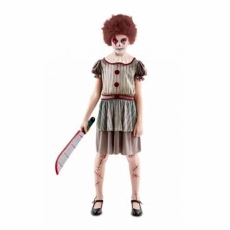 Disfraz Payasa diabólica para niña