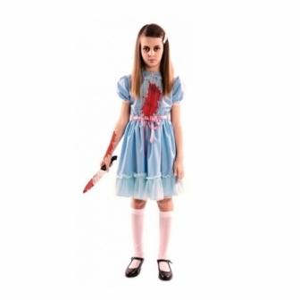 Disfraz niña asesina infantil