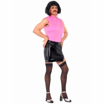 Disfraz Queen Freddie Mercury con peluca