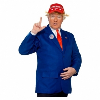 Disfraz Presidente Trump adulto