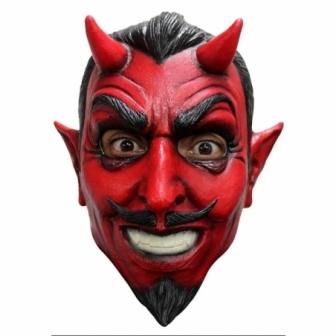 Mascara Demonio clasico latex