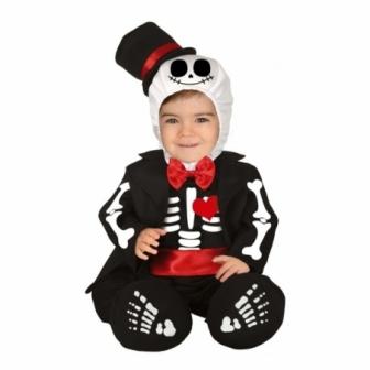 Disfraz de Mister Esqueleto para bebes