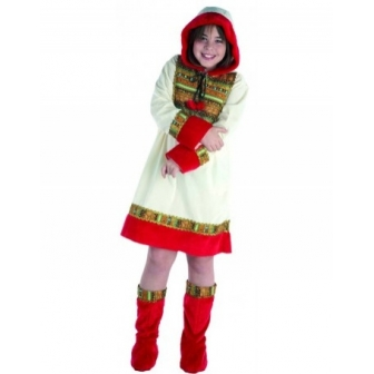 Disfraz Esquimal Chica Infantil