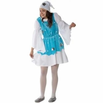 Disfraz chica del frio mujer