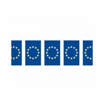 Bandera Tela 10m Europa
