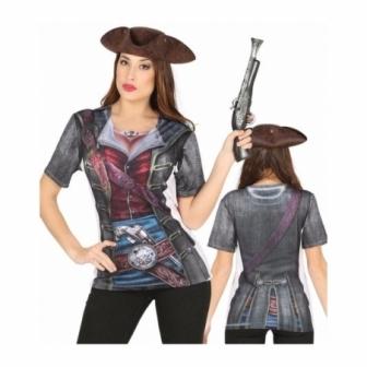 Camiseta Corsaria mujer