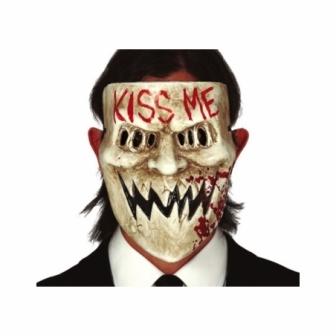 Máscara Kiss me pvc