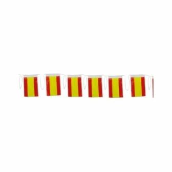 Bandera España plástico 50M. 20x30cm