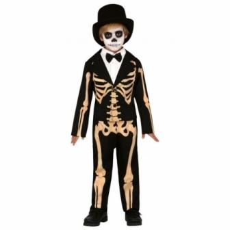 Disfraz Skeleton elegante para niño