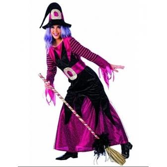 Disfraz Bruja Piruja para mujer