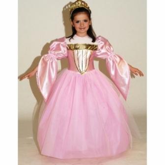 Disfraz  Princesa Ivana infantil lujo