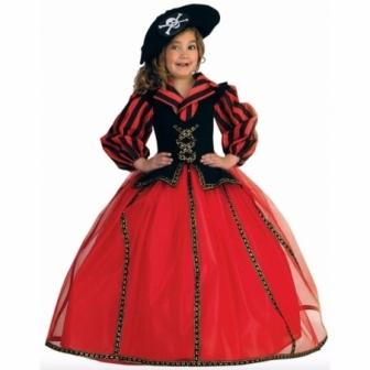 Disfraz Corsaria para niña deluxe