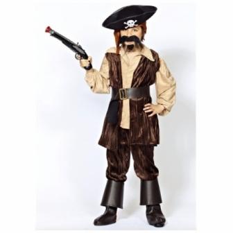Disfraz Pirata del caribe infantil lux