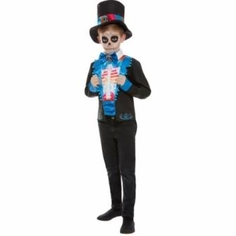 Disfraz Día de los muertos para niños