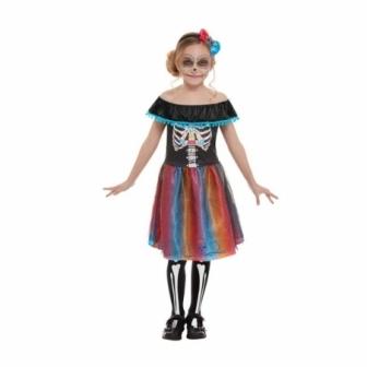 Disfraz Catrina Día de los muertos niñas