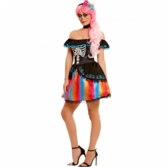 Disfraz Catrina Día de los muertos mujer