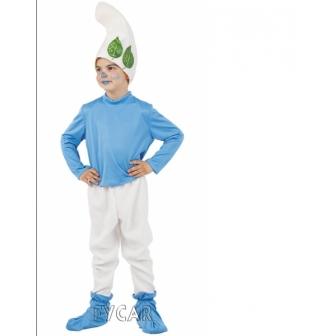 Disfraz pitufo del bosque infantil