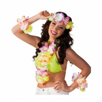 Set Hawaiana 4 Piezas