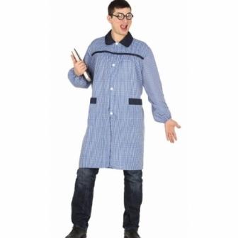 Disfraz Bata de colegio adulto