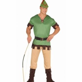 Disfraz Arquero del bosque adulto