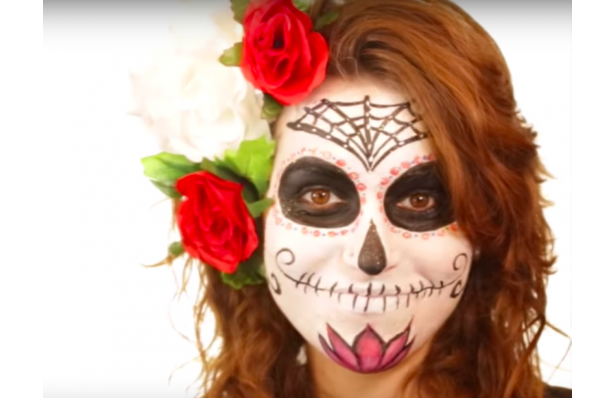 Videotutorial make up Catrina
